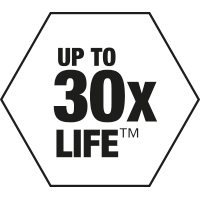 UP TO 30X LIFE