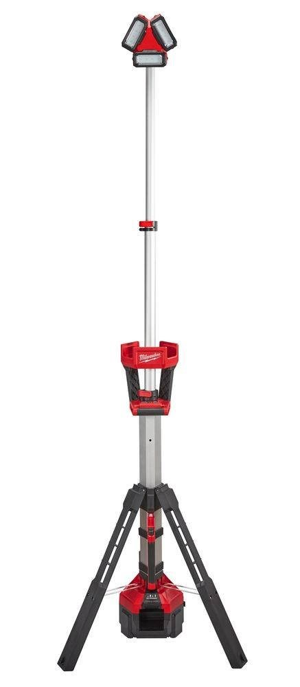 Milwaukee® M18™ High Performance LED Stand Light/Charger: Stand Up, Light Up, Charge Up