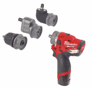Milwaukee® Introduces The M12™ FPDX, a High Performance Compact 6-in-1 Percussion Drill System for E
